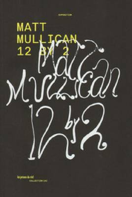Matt Mullican - 12 by 2 (Paperback)