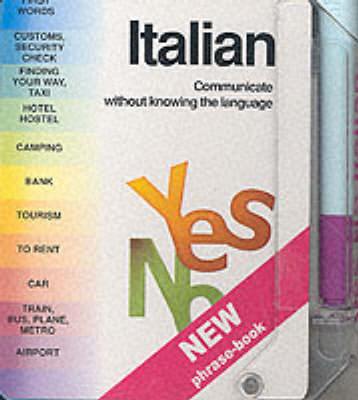 Italian - Yes No Phrase Books (Hardback)