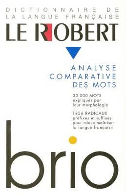 Robert Brio - Dictionnaires Generalistes (Hardback)