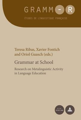 Grammar at School: Research on Metalinguistic Activity in Language Education - GRAMM-R 23 (Paperback)