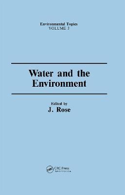 Water & the Environment (Hardback)