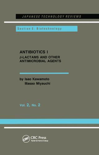 Antibiotics I (Paperback)
