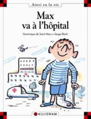 Max va a l'hopital (10) (Hardback)