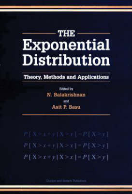 Exponential Distribution: Theory, Methods and Applications (Hardback)