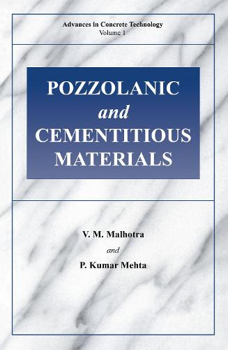 Pozzolanic and Cementitious Materials (Paperback)