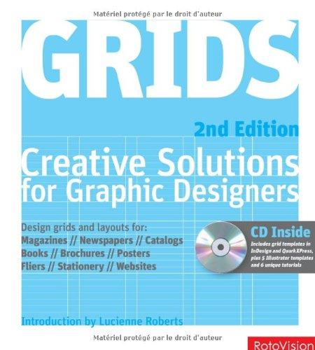 Grids: Creative solutions for graphic designers (Hardback)