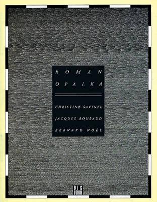 Roman Opalka - Visual Arts S. (Paperback)