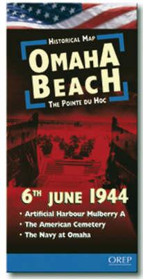 Omaha Beach - 6th June 1944 - Historical Map (Sheet map)