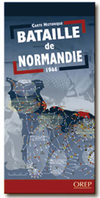 Battle of Normandy - Historical Map (Sheet map)