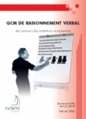 Orseu Publications for the European Institutions Examinations: QCM de Raisonnement Verbal (Paperback)