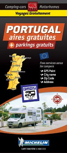 Portugal Motorhome Stopovers: Trailers Park Maps - Trailers Park Maps (Sheet map)