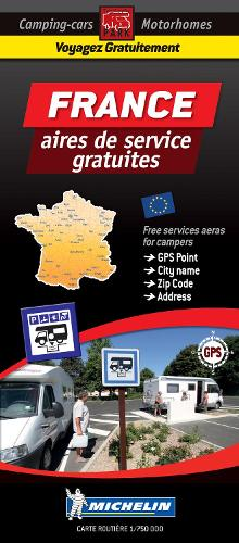 France Motorhome Stopovers: Trailers Park Maps - Trailers Park Maps (Sheet map)