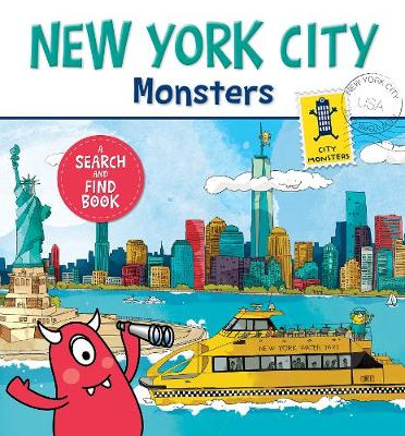 New York City Monsters: A Search-and-Find Book (Board book)