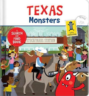 Texas Monsters (Board book)
