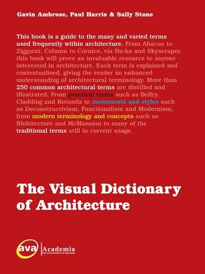 The Visual Dictionary of Architecture - Visual Dictionaries (Paperback)