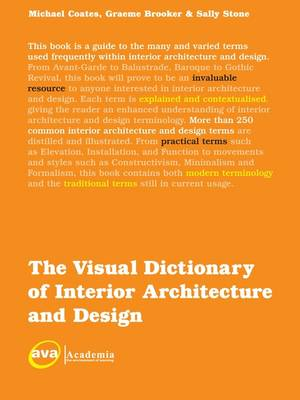 The Visual Dictionary of Interior Architecture and Design - Visual Dictionaries (Paperback)