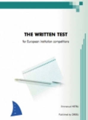 Orseu Publications for the European Institutions Examinations: Written Test (Paperback)