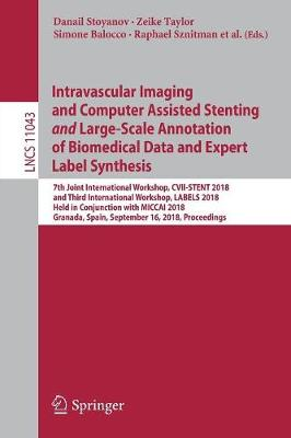 Intravascular Imaging and Computer Assisted Stenting and Large-Scale Annotation of Biomedical Data and Expert Label Synthesis: 7th Joint International Workshop, CVII-STENT 2018 and Third International Workshop, LABELS 2018, Held in Conjunction with MICCAI 2018, Granada, Spain, September 16, 2018, Proceedings - Lecture Notes in Computer Science 11043 (Paperback)
