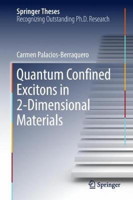 Quantum Confined Excitons in 2-Dimensional Materials - Springer Theses (Hardback)
