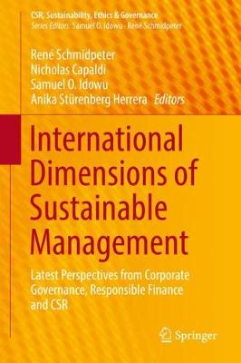 International Dimensions of Sustainable Management: Latest Perspectives  from Corporate Governance, Responsible Finance and CSR - CSR,  Sustainability,