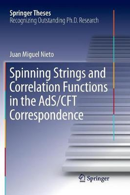 Spinning Strings and Correlation Functions in the AdS/CFT Correspondence - Springer Theses (Paperback)