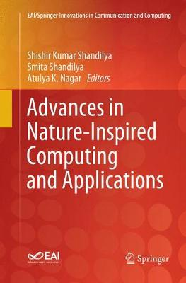Advances in Nature-Inspired Computing and Applications - EAI/Springer Innovations in Communication and Computing (Paperback)