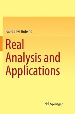 Real Analysis and Applications (Paperback)