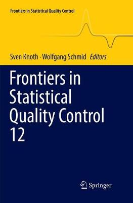 Frontiers in Statistical Quality Control 12 - Frontiers in Statistical Quality Control (Paperback)