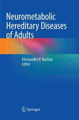 Neurometabolic Hereditary Diseases of Adults (Paperback)