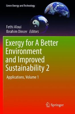 Exergy for A Better Environment and Improved Sustainability 2: Applications - Green Energy and Technology (Paperback)