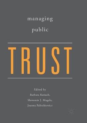 Managing Public Trust (Paperback)