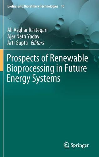 Prospects of Renewable Bioprocessing in Future Energy Systems - Biofuel and Biorefinery Technologies 10 (Hardback)