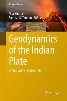 Geodynamics of the Indian Plate: Evolutionary Perspectives - Springer Geology (Hardback)