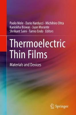 Thermoelectric Thin Films: Materials and Devices (Hardback)