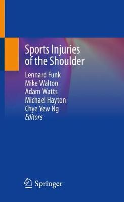 Sports Injuries of the Shoulder (Paperback)