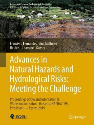 Advances in Natural Hazards and Hydrological Risks: Meeting the Challenge: Proceedings of the 2nd International Workshop on Natural Hazards (NATHAZ'19), Pico Island-Azores 2019 - Advances in Science, Technology & Innovation (Hardback)