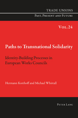 Paths to Transnational Solidarity: Identity-Building Processes in European Works Councils - Trade Unions. Past, Present and Future 24 (Paperback)