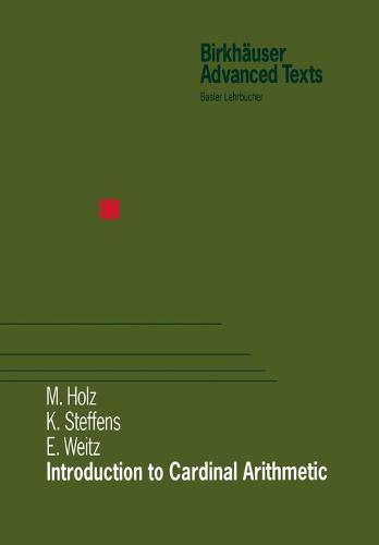 Introduction to Cardinal Arithmetic - Modern Birkhauser Classics (Paperback)