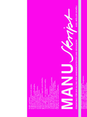 Manuskript: Essentials fur den Alltag von Innenarchitekten und Designern (Hardback)