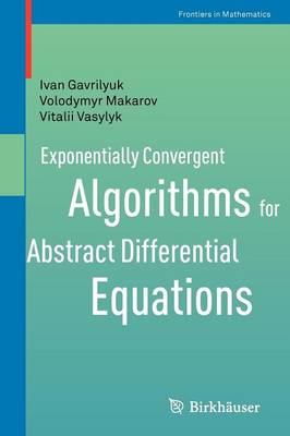 Exponentially Convergent Algorithms for Abstract Differential Equations - Frontiers in Mathematics (Paperback)