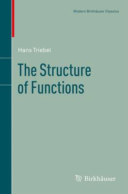 The Structure of Functions - Modern Birkhauser Classics (Paperback)