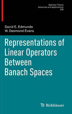 Representations of Linear Operators Between Banach Spaces - Operator Theory: Advances and Applications 238 (Hardback)