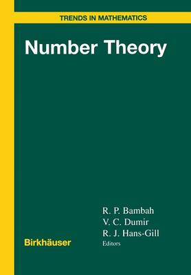 Number Theory - Trends in Mathematics (Paperback)