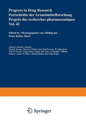 Progress in Drug Research / Fortschritte der Arzneimittelforschung / Progres des recherches pharmaceutiques - Progress in Drug Research 41 (Paperback)