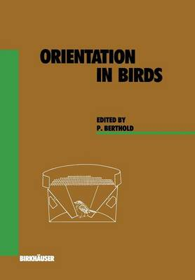 Orientation in Birds - Experientia Supplementum 60 (Paperback)