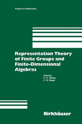 Representation Theory of Finite Groups and Finite-Dimensional Algebras: Proceedings of the Conference at the University of Bielefeld from May 15-17, 1991, and 7 Survey Articles on Topics of Representation Theory - Progress in Mathematics 95 (Paperback)