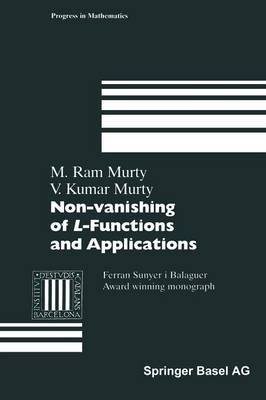 Non-vanishing of L-Functions and Applications - Progress in Mathematics 157 (Paperback)