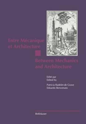 Entre Mecanique et Architecture / Between Mechanics and Architecture (Paperback)