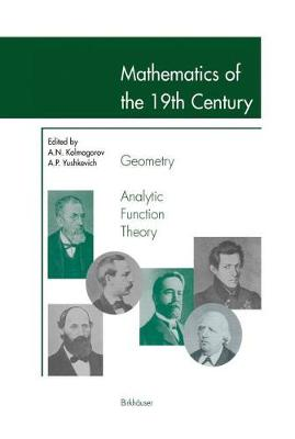 Mathematics of the 19th Century: Geometry, Analytic Function Theory (Paperback)