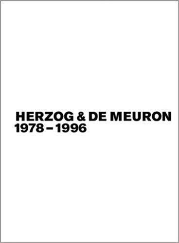 Herzog & de Meuron 1978-1996, Bd./Vol. 1-3 (Paperback)